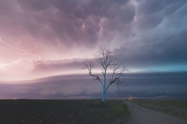 "Submitted Photo Prairie Storm"", by photographer Tim Zeltinger, of Glenburn, was awarded first place in the color photography division."