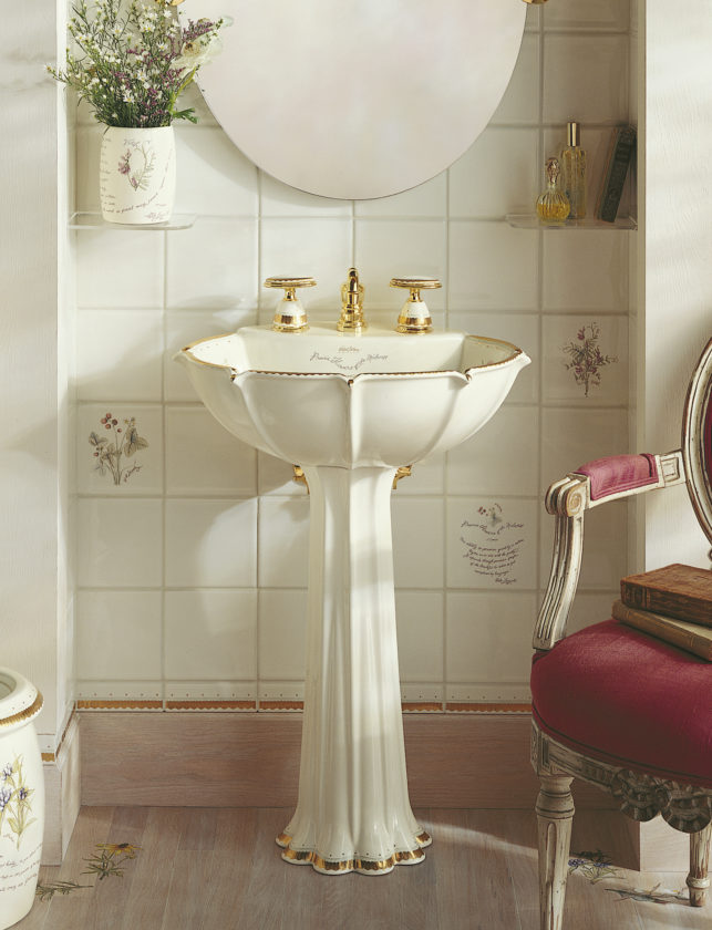 Timeless And Classic, Barbara Barryu0027s Tuxedo Collection For Kallista  Includes This Pedestal Sink, A Contemporary Take On The Classic Silhouette.
