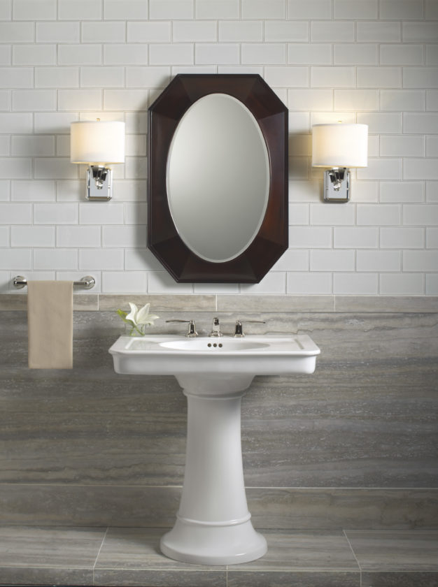 RIGHT AT HOME: New pedestal sinks are perches with panache   News ...