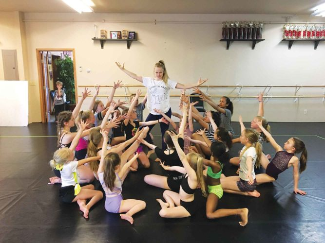 """SubmittedPhoto  Dancers at Studio X rehearse for their upcoming presentation of """"The Lion King."""" Show dates and times are Friday at 7 p.m. and Saturday at 2 p.m. and 7 p.m., at the Holiday Inn-Riverside in Minot."""