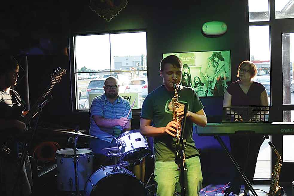 Hailing from the Magic City, Blue House looks forward to bringing their signature blend of funk, pop and jazz to Dakota Square Mall, Saturday from noon - 3 p.m.   SubmittedPhoto