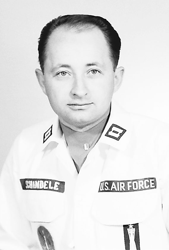 Submitted Photo This photo of Capt. David D. Schindele was taken at Minot Air Force Base when he was a Minuteman I intercontinental ballistic missile launch crew commander in the 1960s.