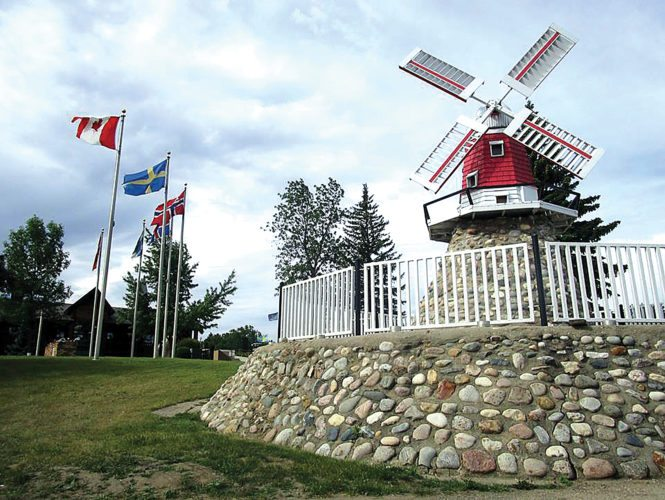 Allan Blanks/MDN The Danish Windmill is one of several attractions that contributed to the Scandinavian Heritage Park, earning  the USA TODAY 10Best Rest Choice Award for best attraction in North Dakota.