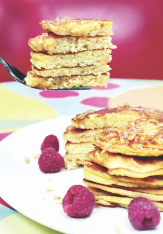 Sweet and savory: Fluffy Coconut Pancakes | News, Sports ...