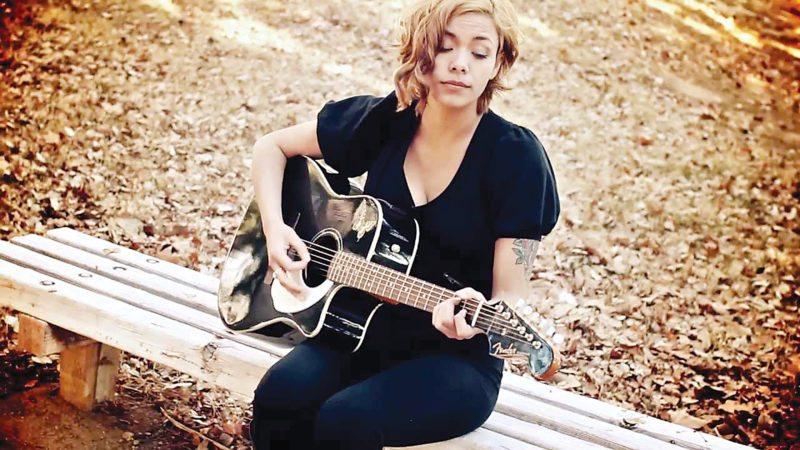 Submitted Photo Vanessa Andrea, a singer and songwriter residing in Minot, looks forward to providing an evening of exceptional guitaring, dynamic vocals and expressive lyricism at the Pour House, Friday, at 9 p.m.
