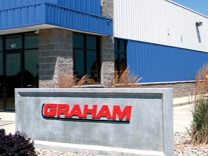 Kent Olson/MDN Graham Construction Services recently moved to new offices at 917 20th Avenue SE, having been in business in the Minot area for 10 year.