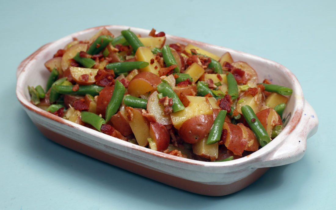 Red potato, green bean and bacon salad. David Samson / The Forum
