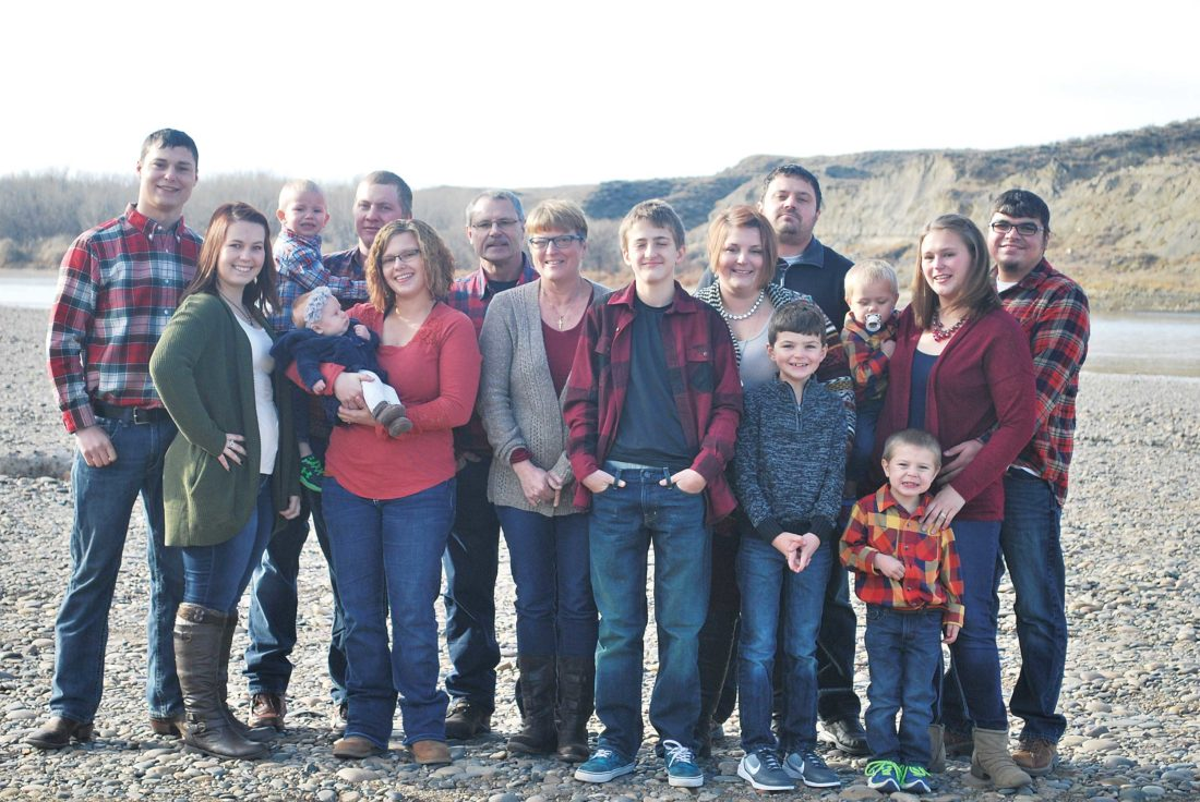 Submitted Photo Family and friends of Debby Olson are joining together for the Minot Walk to End Alzheimer's on Saturday in Oak Park.