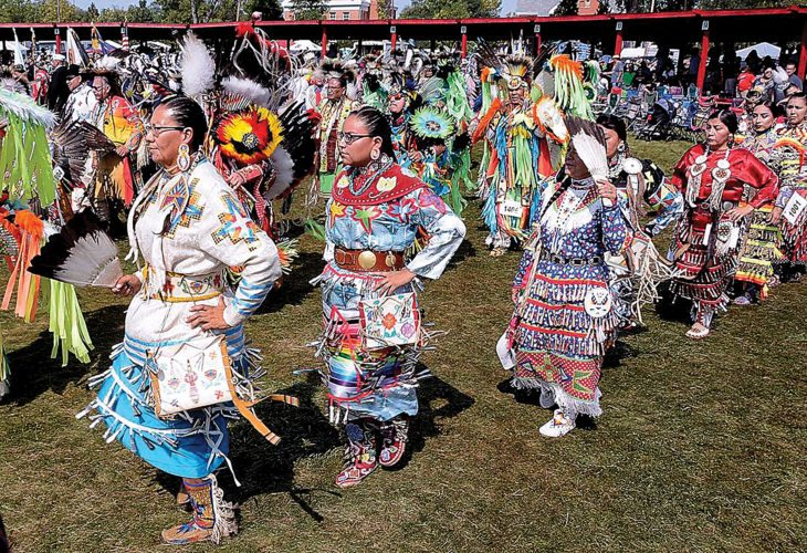 Submitted Photo Many dancers participated in the annual United Tribes Technical College International Powwow held Sept. 8-10 at Bismarck.