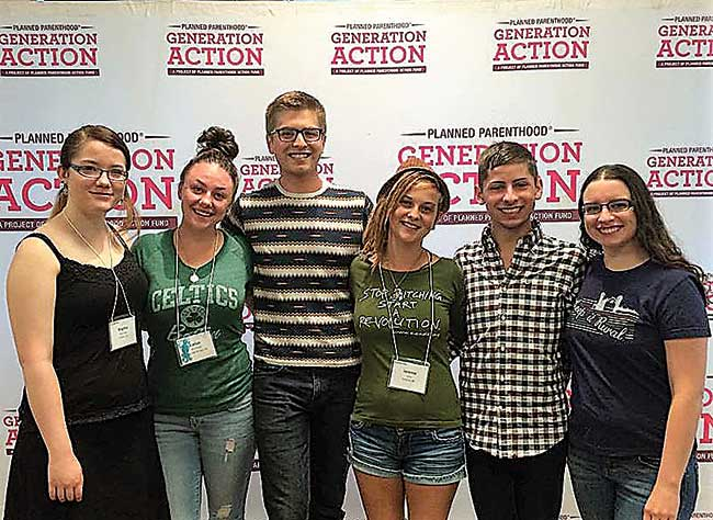 Submitted Photo North Dakota college students are among students with Planned Parenthood Generation Action attending a Generation Change conference in 2015.