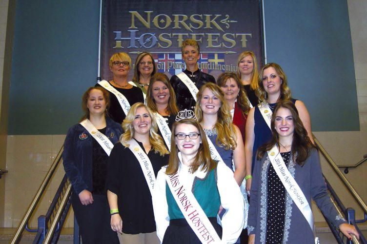 Past and Present Miss Norsk Høstfests
