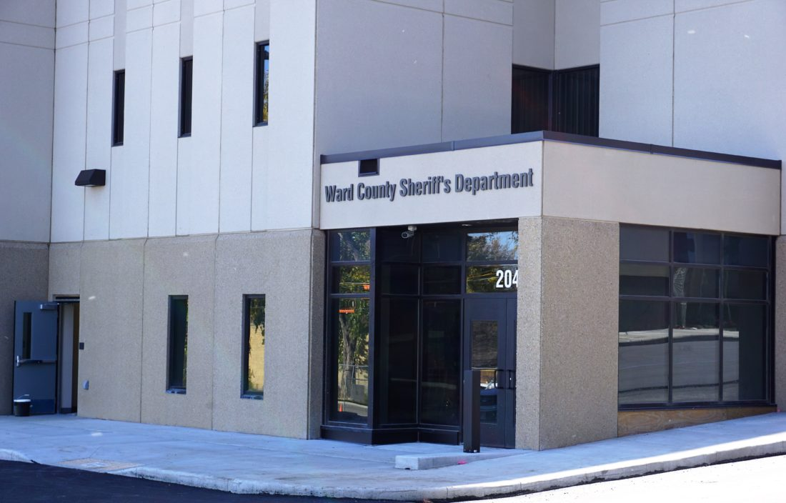 Jill Schramm/MDN The new jail expansion and sheriff's office is nearing completion.