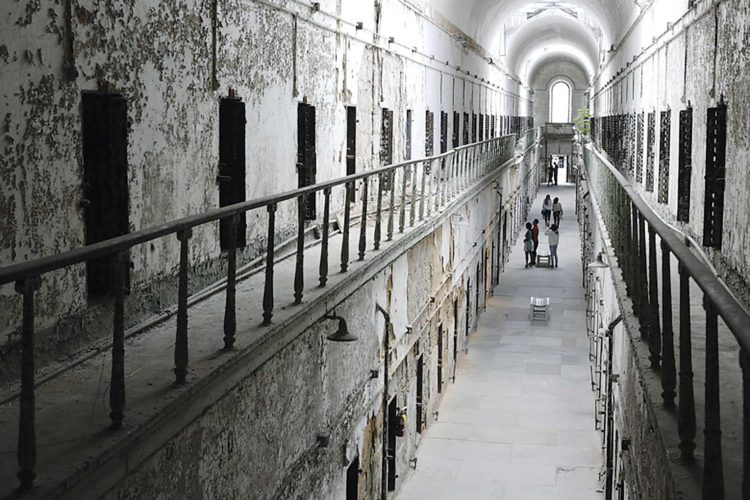 AP Photo Eastern State Penitentiary in Philadelphia took in its first inmate in 1829, closed in 1971 and reopened as a museum in 1994.