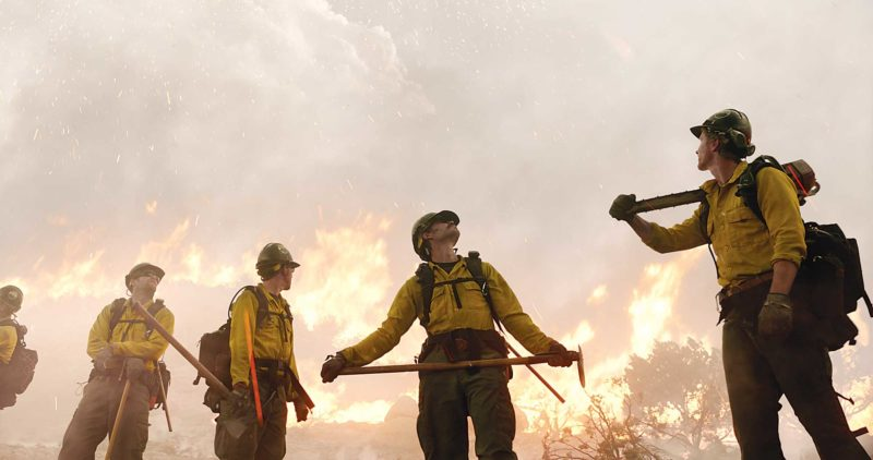 "AP Photo This image released by Sony Pictures shows a scene from ""Only the Brave."""