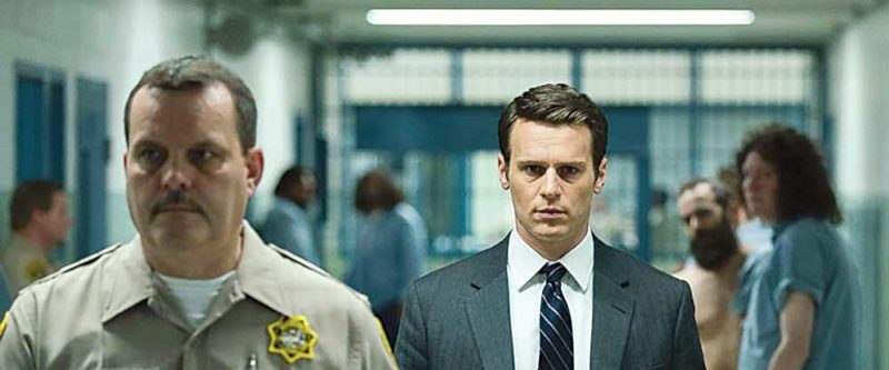 "Jonathan Groff in a scene from the 10-episode series, ""Mindhunter,"" streaming on Netflix starting Friday.   AP Photo"