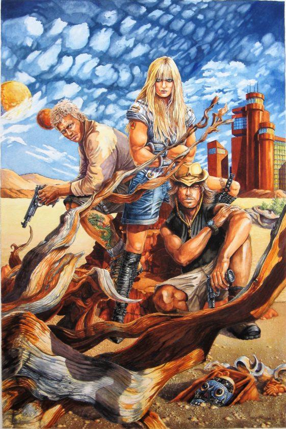 Three in Desert (2)