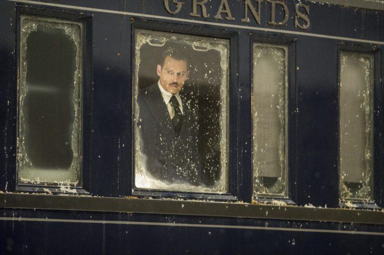 "This image released by Twentieth Century Fox shows Johnny Depp in a scene from, ""Murder on the Orient Express."" (Nicola Dove/Twentieth Century Fox via AP)"