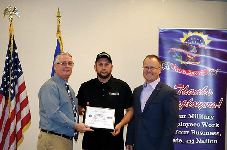Schlumberger supervisor honored with Patriot Award