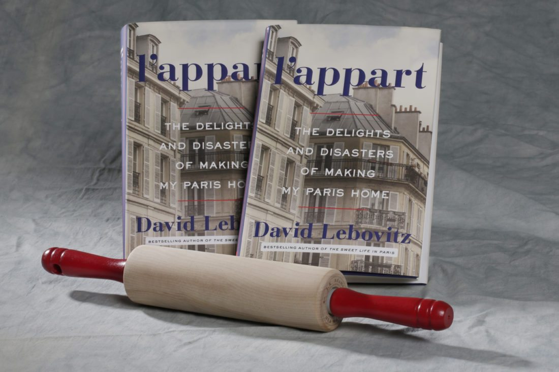 "Chef David Lebovitz's book ""L'appart, The Delights and Disasters of Making My Paris Home,"" from Crown, is photographed in New York, Wednesday, Oct. 25, 2017. If you ever dreamed of having an apartment in Paris, this book is required reading. (AP Photo/Richard Drew)"