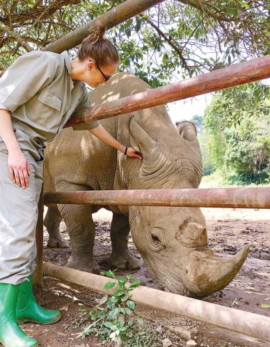 Zookeeper returns from African conservation trip