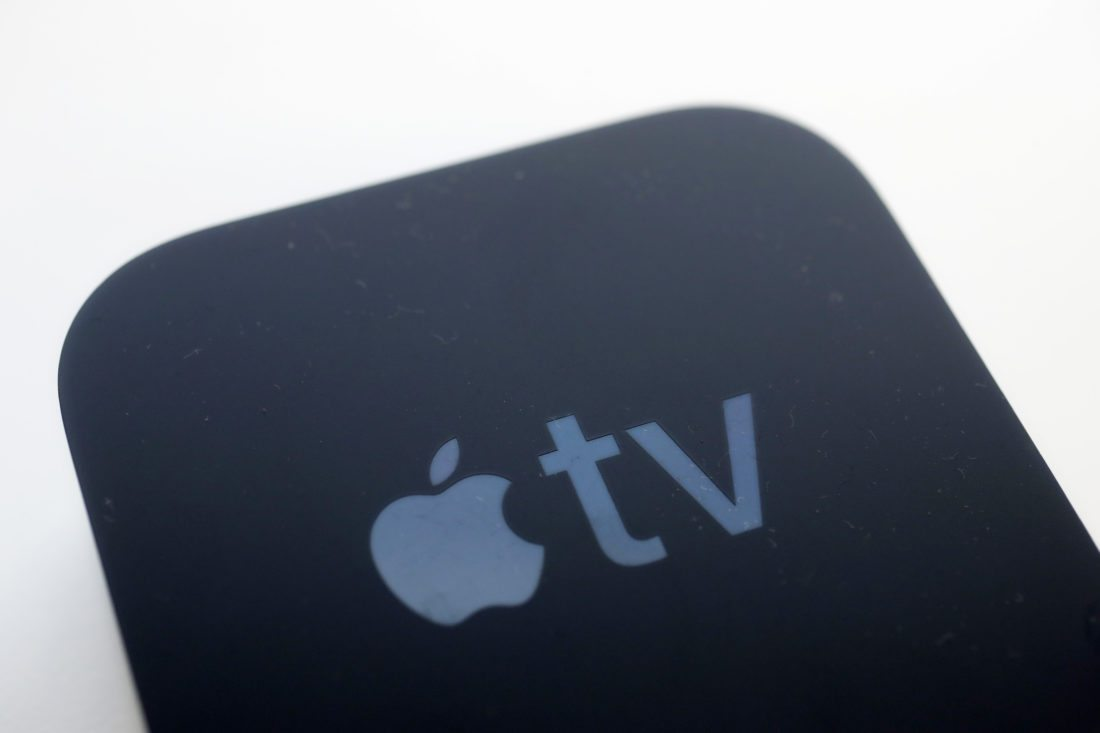 This Friday, Sept. 15, 2017, photo shows the Apple TV streaming device, on display in New York. Though an iPhone isn't required, Apple TV will be most useful with one. (AP Photo/Mark Lennihan)