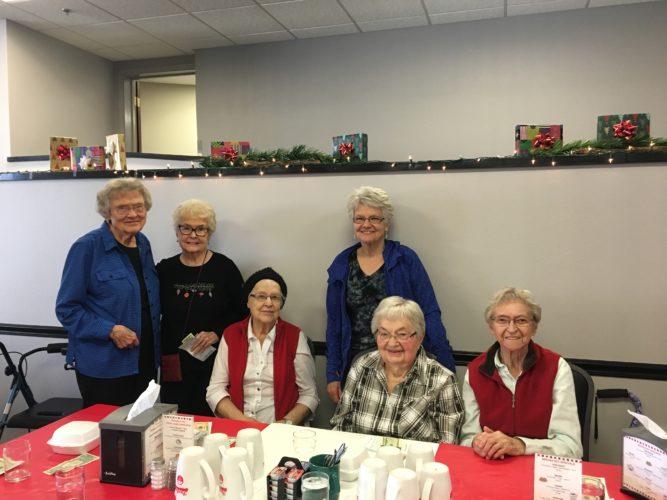 Shyanne Belzer/MDN Sarah Bradshaw, Eileen Skowronek, Joanne Farden, Garnetta Wanner, Jillie Kuntz and Vivian Keyes.