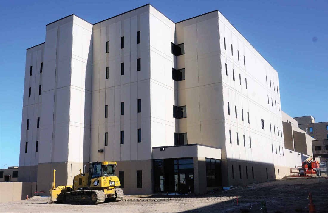 Completion of the new Ward County jail  occured in 2017. Inmates began occupying the new facility  in late December.  Jill Schramm/MDN