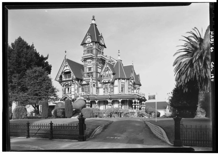 "Submitted Photo The Carson House, Eureka, California, 1960, by Jack E. Boucher is part of the ""House & Home"" exhibit."