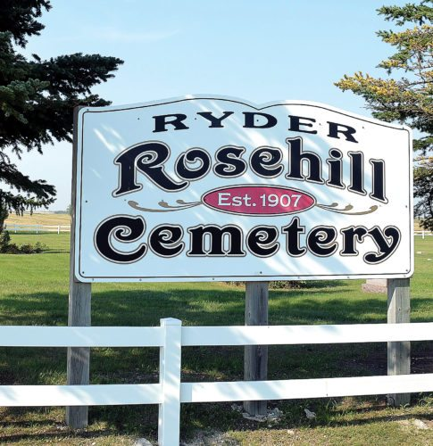 Eloise Ogden/MDN A recently established preservation fund will continue for future generations to maintain and preserve Ryder's cemetery