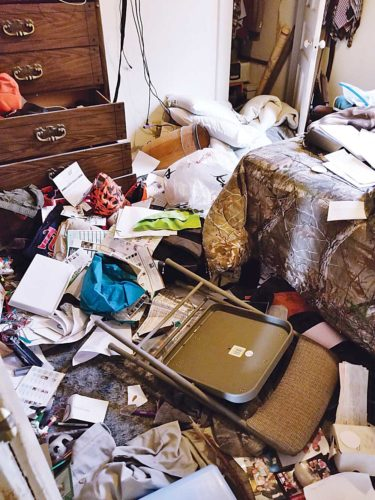 Kim Fundingsland/MDN A home burglary, like this one, can leave a homeowner feeling violated. But there are ways to fight back.