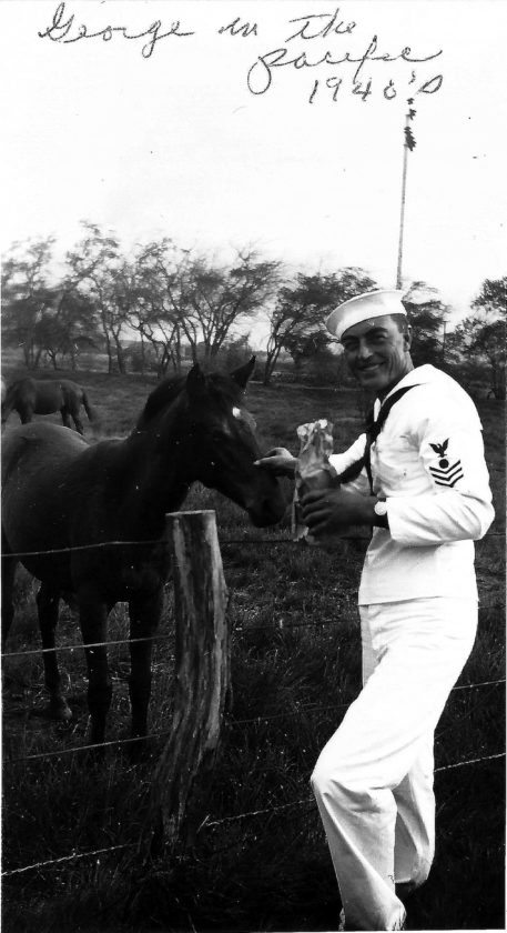 Submitted Photo George Nygaard served in the Pacific in the U.S. Navy's Seabees during World War II