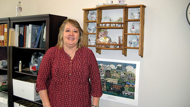 Andrea Johnson/MDN Jodi Johnson is the Ward County Superintendent of Schools.