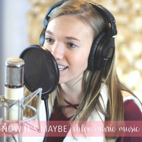 Chloe-Marie-Album-Cover-for-Now-It's-Maybe-(2nd-single-released)