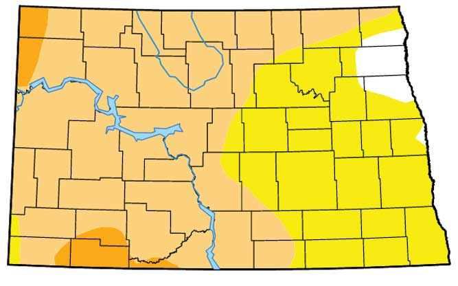 Snowstorm Helps Doesnt End Drought News Sports Jobs Minot - Where is north dakota