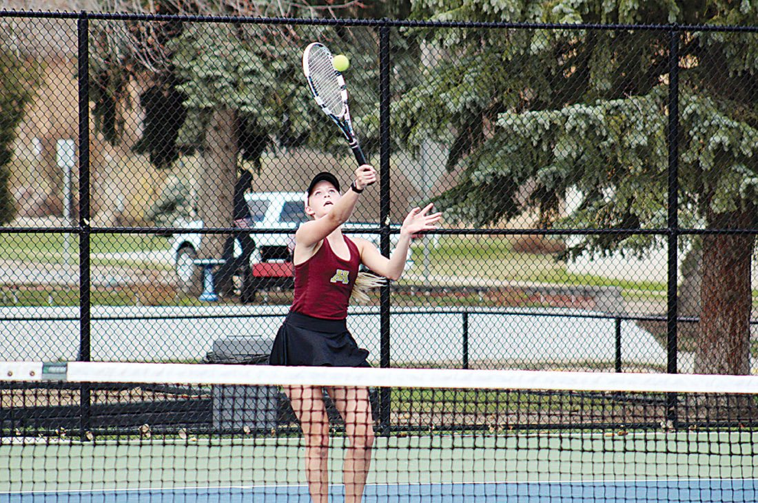 Minot High Tennis Sweeps Dickinson In Last Home Meet News Sports