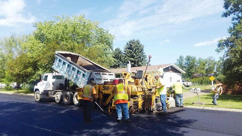 Rebuilding Harvey's streets has reached a brisk construction pace