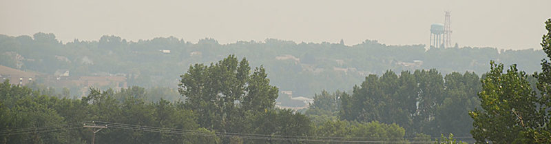 Health Department warns residents about smoke
