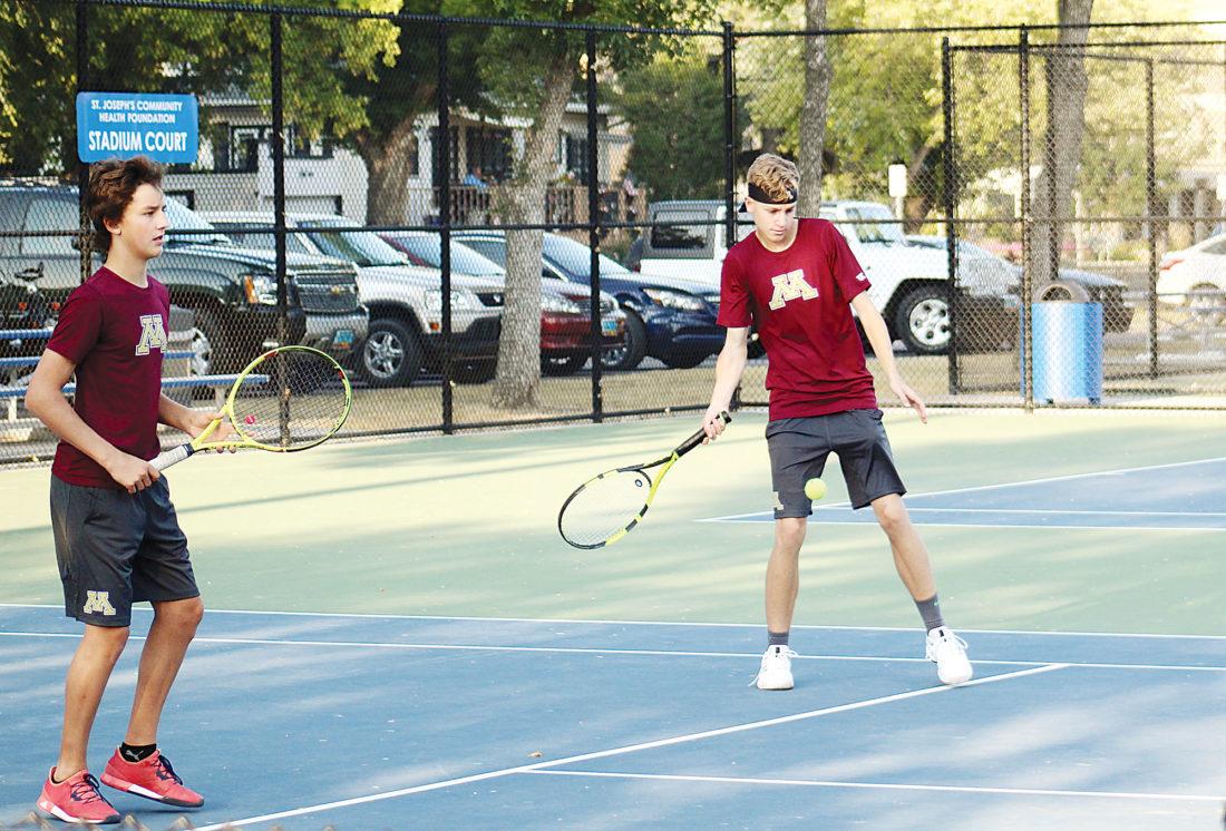 Minot High Boys Tennis Ready To Attack The Season News Sports