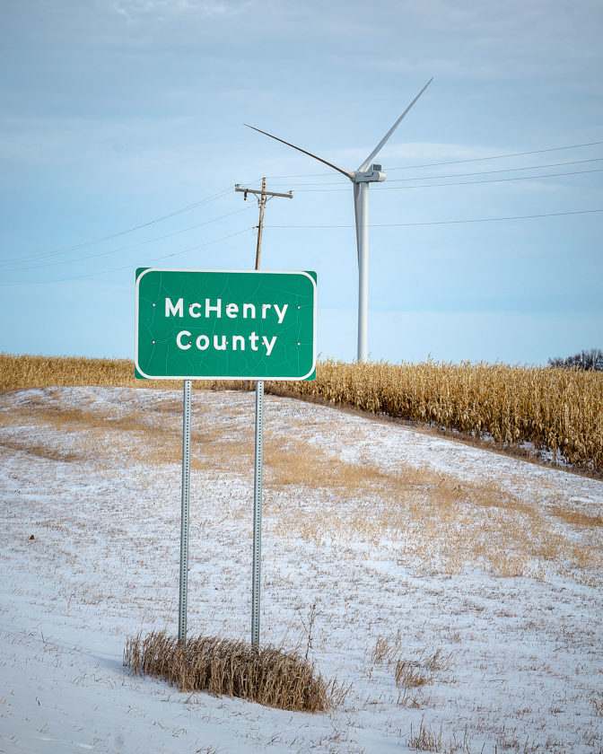 Turbines turning in McHenry County