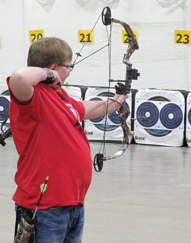 Ward County 4-H archers compete at Northwest District 4-H Archery Match