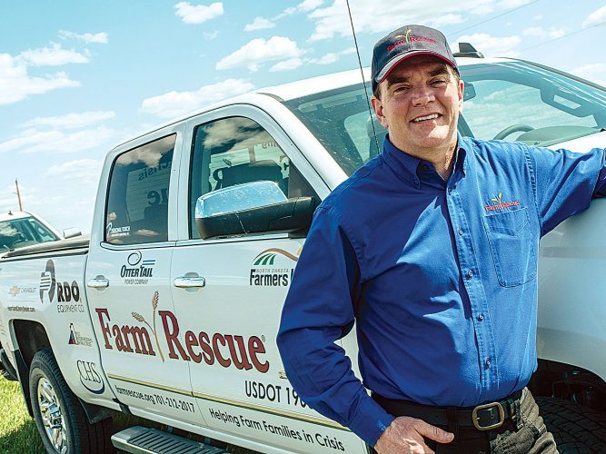 Farm Rescue founder Bill Gross selected grand marshal of ND State Fair Parade