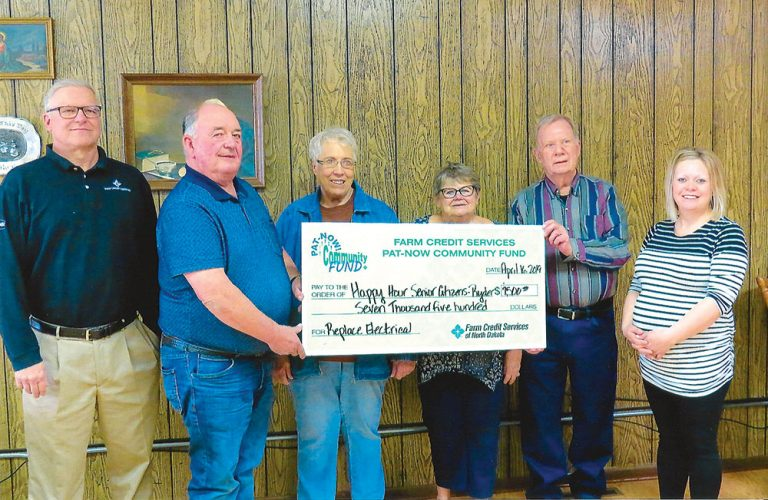 Farm Credit Services awards $7,500 to Ryder Senior Citizens