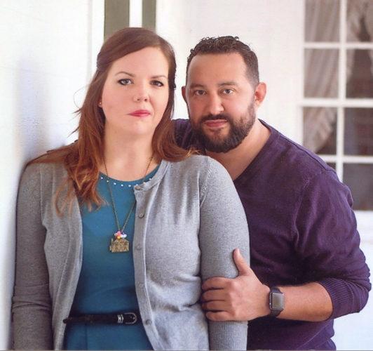 Elyse Cain and Jon Zelasko