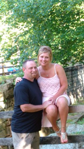 Dennis Hildebrand and Sarah Price