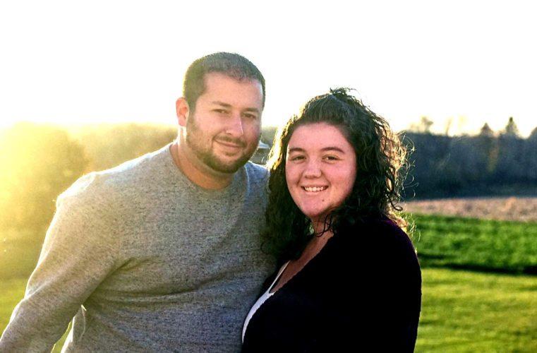 Brandon Huff and Mary Yuhas