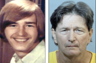 Jeff Michels as a young man and now.