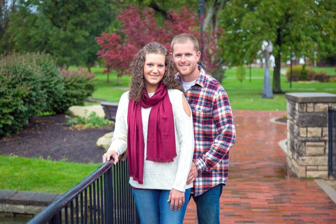 Abby McIntosh and Aaron Burd