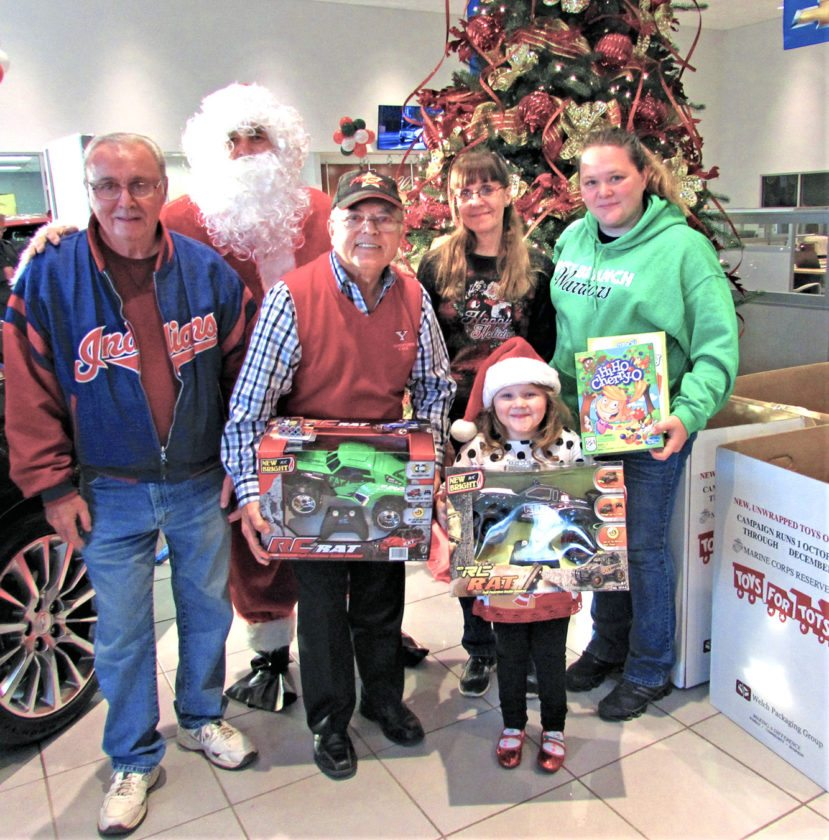 Grinch Targets Toys For Tots