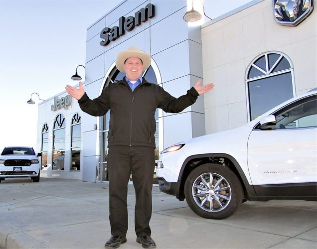 "Morning Journal/Larry Shields As he stepped from the front door of the newly-purchased Wally Armour Salem Chrysler Dodge Jeep RAM dealership, Al Armour, president of the company, donned a western hat and joked, ""There's a new sheriff in town."" Located at 400 Legacy Lane, Wally Armour Sr. opened Wally Armour in Alliance in 1981 and W.A. Salem, LLC purchased John Kufleitner's Salem Chrysler Dodge Jeep RAM on Nov. 1."
