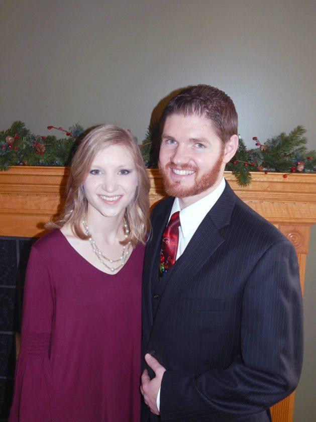 Shelby Wagner and Levi Zielinski